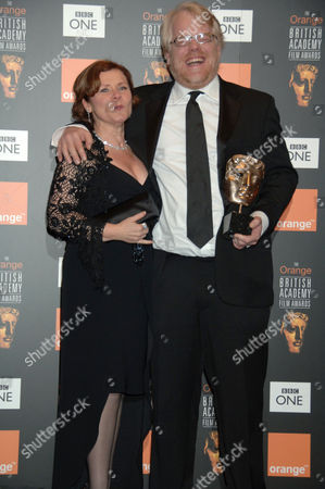 Imelda Staunton and Philip Seymour Hoffman