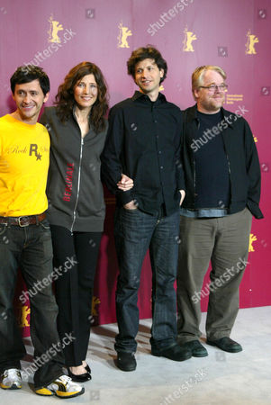 'Capote' photocall Clifton Collins Jnr, Catherine Keener, Bennet Miller and Philip Seymour Hoffman