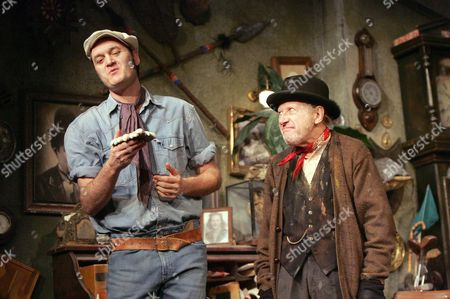 'Steptoe and Son : Murder at Oil Drum Lane' - Jake Nightingale ( Harold ) and Harry Dickman ( Albert )