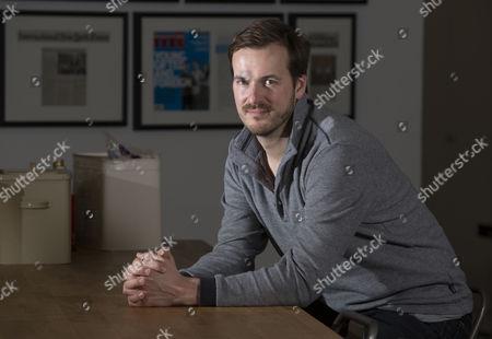 Editorial picture of Taavet Hinrikus photo shoot, London, UK - 07 Jul 2016