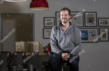 Editorial photo of Taavet Hinrikus photo shoot, London, UK - 07 Jul 2016