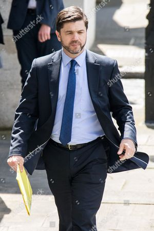 Stephen Crabb inside Parliament today