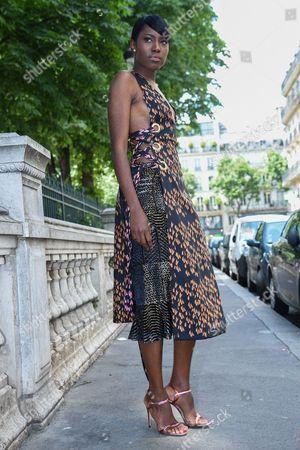 Editorial photo of Jean Paul Gaultier show, Arrivals, Autumn Winter 2016, Haute Couture Fashion Week, Paris, France - 06 Jul 2016