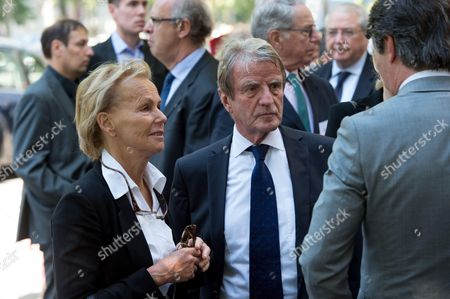 Bernard Kouchner and Christine Ockrent