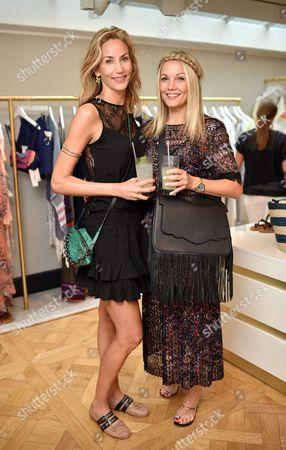 Lisa Butcher and Caroline Fleming