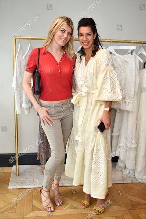 Meredith Ostrom and Stephanie Alameida