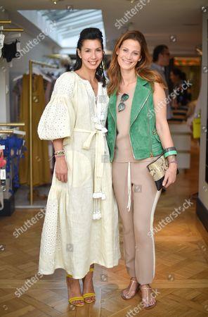 Stephanie Alameida and Julia Zaouk