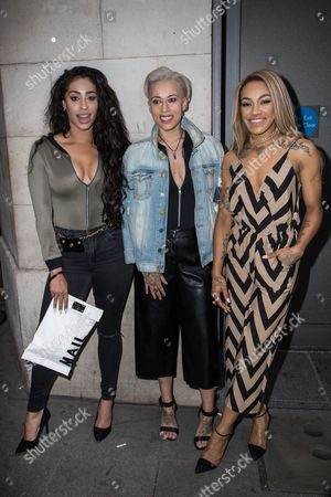 Alexandra Buggs Courtney Rumbold and Karis Anderson of Stooshe