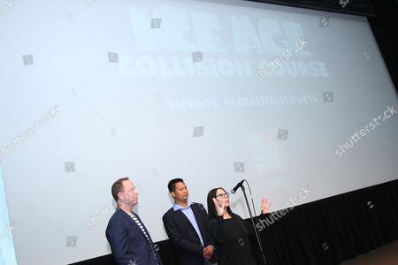 Michael Thurmeier (Director), Galen Tan Chu (Co-Director) and Lo