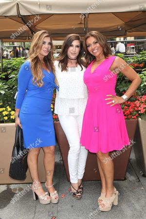 Stock Picture of Siggy Flicker, Jacqueline Laurita and Dolores Catania