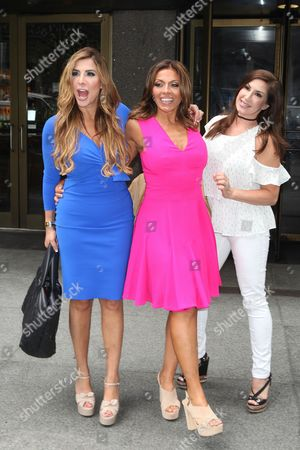 Editorial picture of 'The Real Housewives of New Jersey' cast in New York, USA - 07 Jul 2016