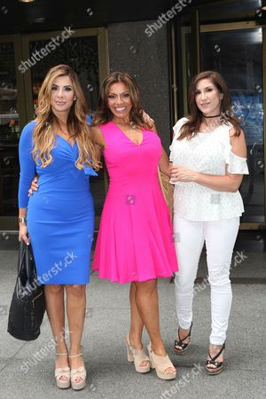 Editorial photo of 'The Real Housewives of New Jersey' cast in New York, USA - 07 Jul 2016