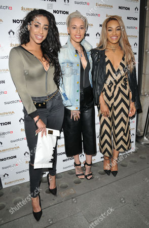 Stooshe - Alexandra Buggs, Karis Anderson and Courtney Rumbold