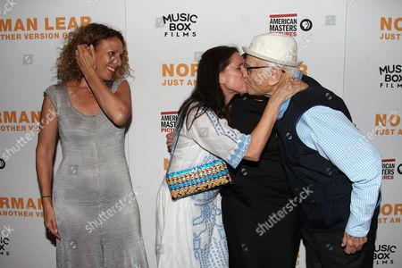 Rachel Grady, Julie Taymor and Norman Lear