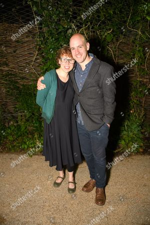 Stock Image of Michelle Terry and Director Robert Hastie