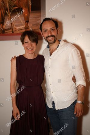 Polly Frame and Philip Arditti