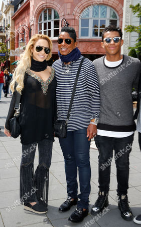 Editorial image of Jermaine Jackson out and about, Cologne, Germany - 06 Jul 2016