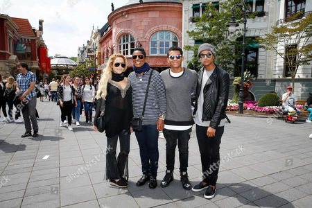 Editorial picture of Jermaine Jackson out and about, Cologne, Germany - 06 Jul 2016