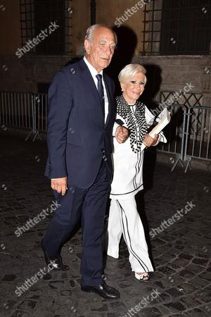 Giuseppe Tedesco and Anna Fendi