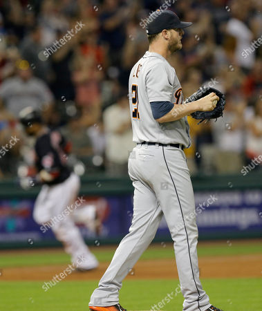 Editorial picture of Tigers Indians Baseball, Cleveland, USA - 05 Jul 2016