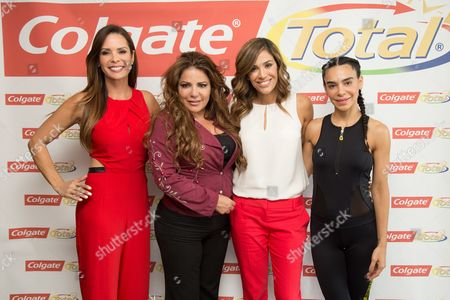 Editorial picture of Colgate Total Simplemente Saludable event, Miami, USA - 07 Jul 2016