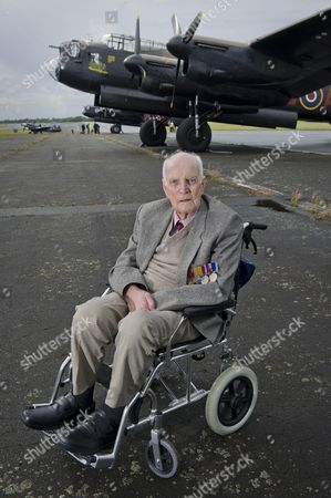 Editorial photo of Arvo Lacncaster bombers. 14 August 2014