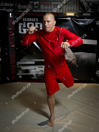Daily Star man Patrick Lennon gets a training session and chat with MMA champion Georges St-Pierre.