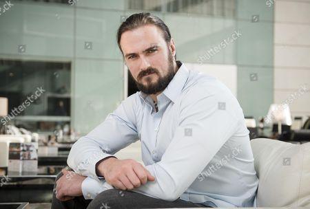 Editorial photo of Wrestler Drew Galloway. 20 April 2015