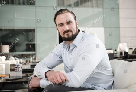 Stock Photo of FIGHTING TALK... Wrestler Drew Galloway from Scotland speaks to Patrick Lennon from Fighting Talk about his wrestling career.