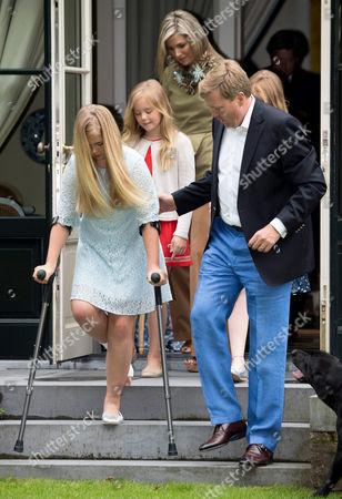 Crown Princess Catharina-Amalia, Princess Ariane, Queen Maxima, King Willem-Alexander