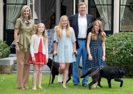 Queen Maxima, Princess Ariane, Crown Princess Catharina-Amalia, King Willem-Alexander, Princess Alexia
