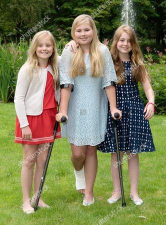 Princess Ariane, Crown Princess Catharina-Amalia, Princess Alexia