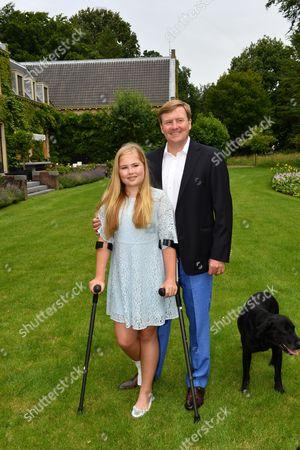 King Willem-Alexander and Crown Princess Catharina-Amalia