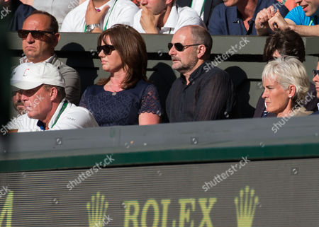 Stock Picture of Ivan Lendl, Will Murray and Judy Murray