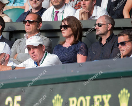 Stock Image of Ivan Lendl, Will Murray