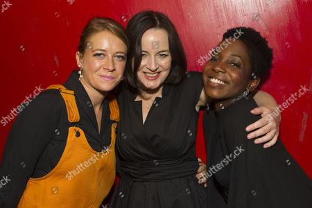 Genevieve Barr (Eva), Amanda Drew (Anastasia) and Tamara Lawrance (Natasha)