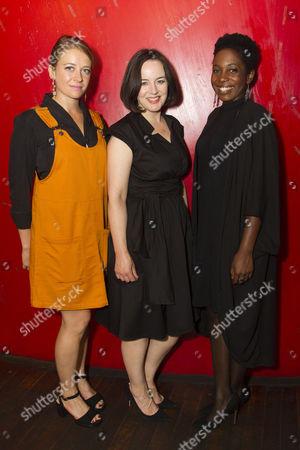 Stock Photo of Genevieve Barr (Eva), Amanda Drew (Anastasia) and Tamara Lawrance (Natasha)