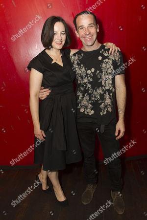 Amanda Drew (Anastasia) and Jonjo O'Neill (Ivan)