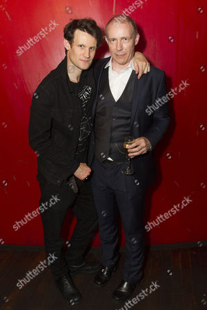 Stock Picture of Matt Smith (Maxim) and Anthony Neilson (Author/Director)