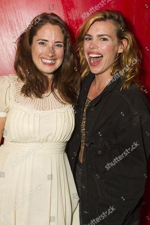Lucy Prebble and Billie Piper