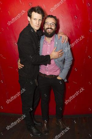 Matt Smith (Maxim) and Richard Pyros (Carl)