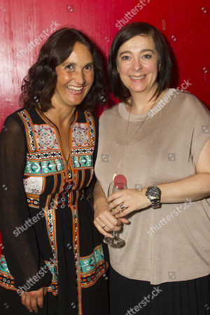 Lucy Davies (Executive Director) and Vicky Featherstone (Artistic Director)