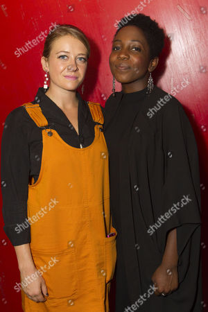 Genevieve Barr (Eva) and Tamara Lawrance (Natasha)