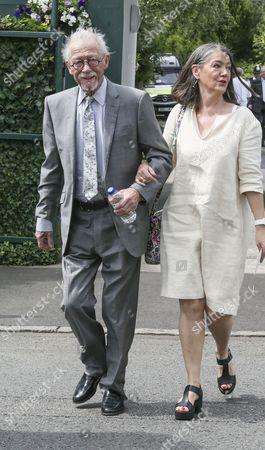 John Hurt and wife