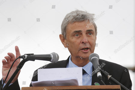 Dave Prentis, of UNISON, speaking at the Durham Miners' Gala