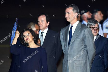 King Felipe VI of Spain, Soraya Saenz de Santa Maria