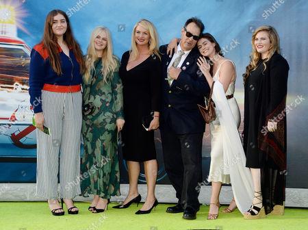 Dan Aykroyd, wife Donna Dixon and kids