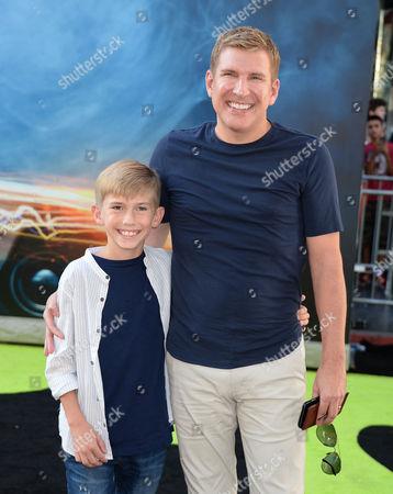 Todd Chrisley and son Grayson Chrisley