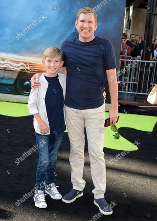 Stock Image of Todd Chrisley and son Grayson Chrisley