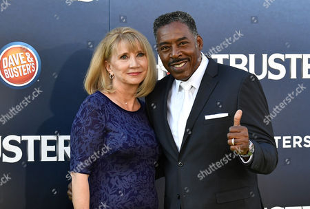 Stock Picture of Ernie Hudson and Linda Kingsberg